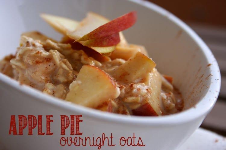 Die besten Tipps und Tricks rund um Overnight Oats: Apple Pie Overnight Oats - kochkarussell.com
