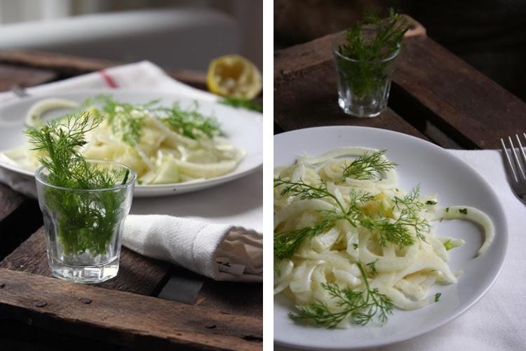 Fenchelsalat mit Minze - Kochkarussell.com