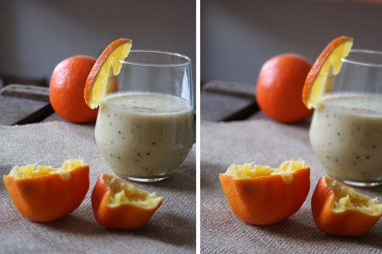 Kiwi-Orangen Smoothie - Kochkarussell.com