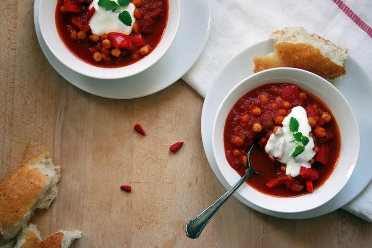 Indisches Kichererbsen-Curry || Kochkarussell