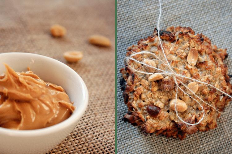 Healthy Peanut Butter Cookies    Kochkarussell