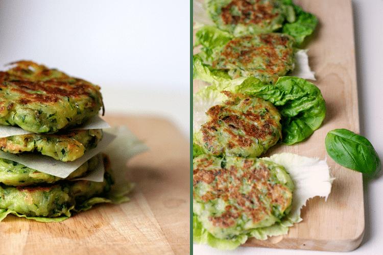 Kochkarussell: Vegane Zucchini Fritters