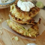 Brussels Sprouts Fritters