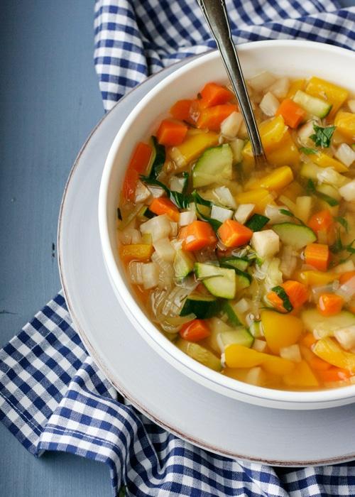 Heilfasten Suppe Rezept