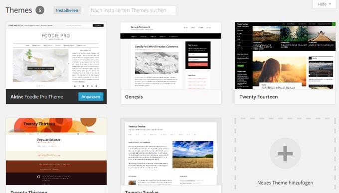 Anleitung Umzug von Blogger zu WordPress in 6 einfachen Schritten Theme - Kochkarussell.com