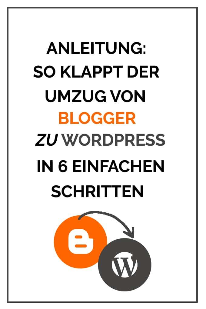 Anleitung: So klappt der Umzug von Blogger zu WordPress in 6 einfachen Schritten - Kochkarussell.com