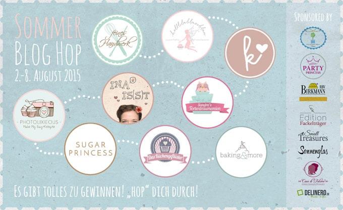 Sommer Blog Hop Banner Teilnehmer