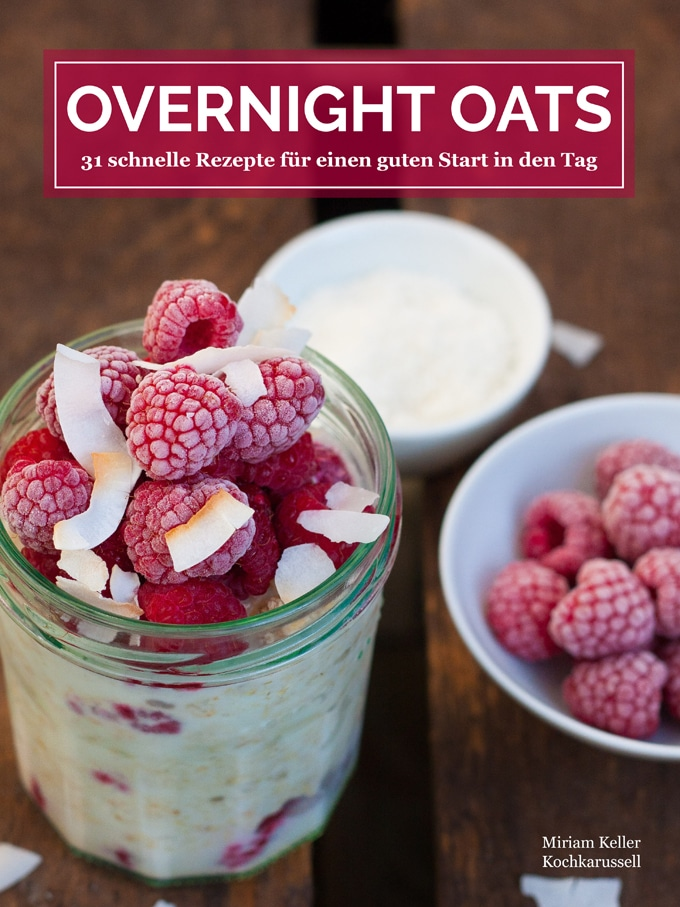 Overnight Oats e-Book Cover - Kochkarussell.com