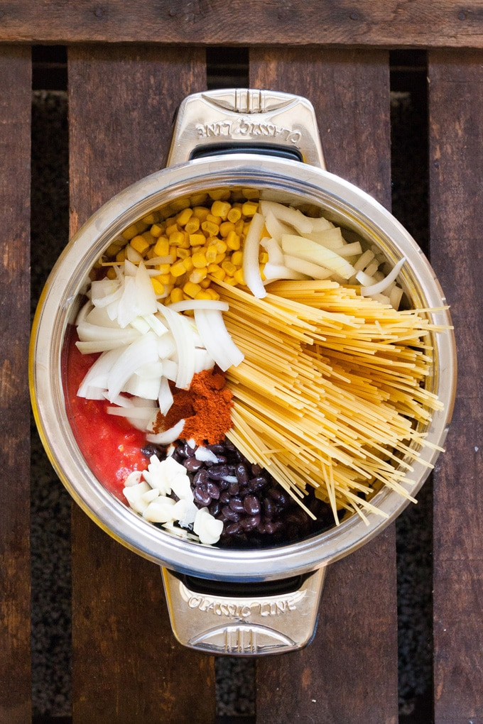 One Pot Mexican Pasta - Kochkarussell.com