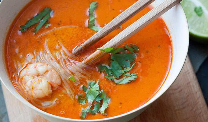 Thai Shrimp Soup - Kochkarussell.com