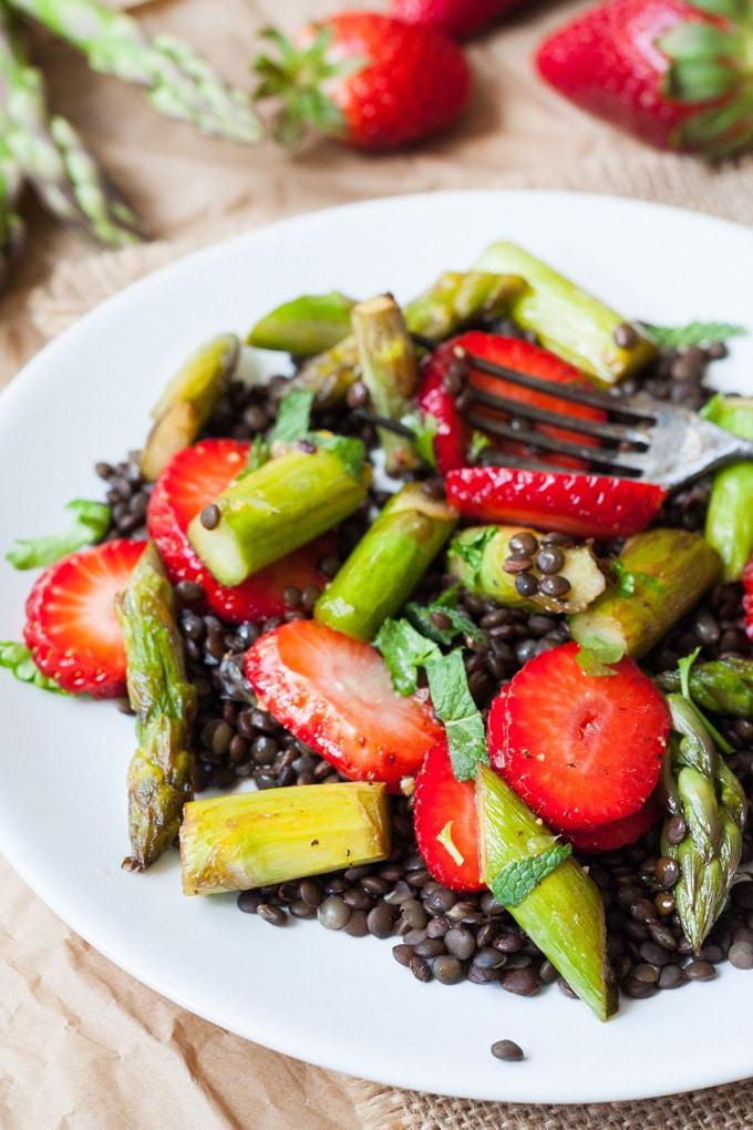 Rezepte fur spargel salate