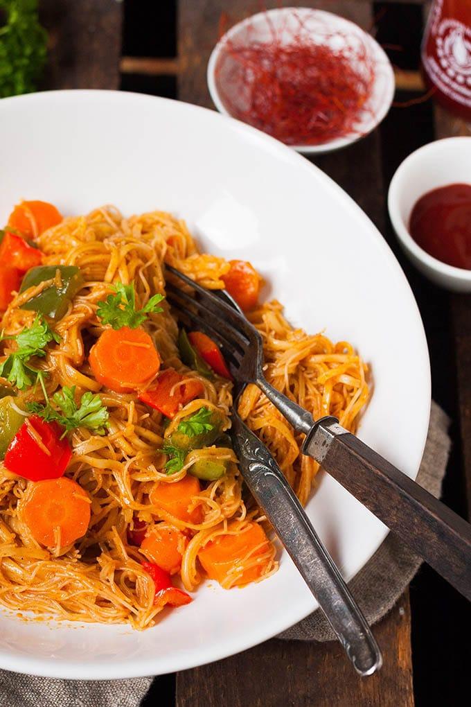 20-Minuten One Pot Glasnudel-Curry. Herrlich cremig! - Kochkarussell.com