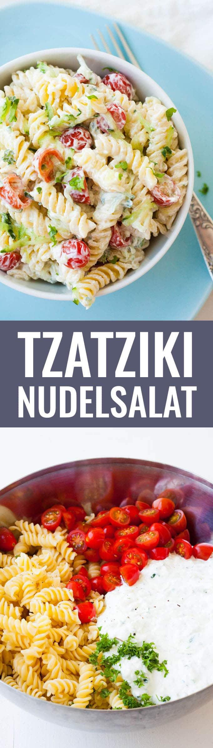 Tzatziki Nudelsalat - Kochkarussell.com