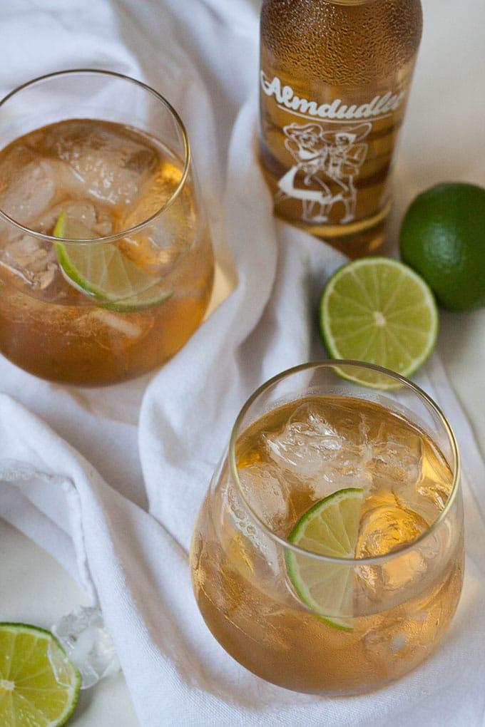 Werbung. Gin Dudl. Für diesen erfrischenden Sommerdrink braucht ihr nur vier Zutaten und fünf Minuten Zeit. SO gut - kochkarussell.com