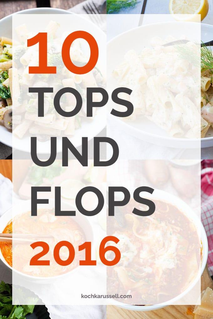 Jahresrückblick im Kochkarussell mit den 10 besten und unbeliebtesten Posts des Jahres - Kochkarussell.com