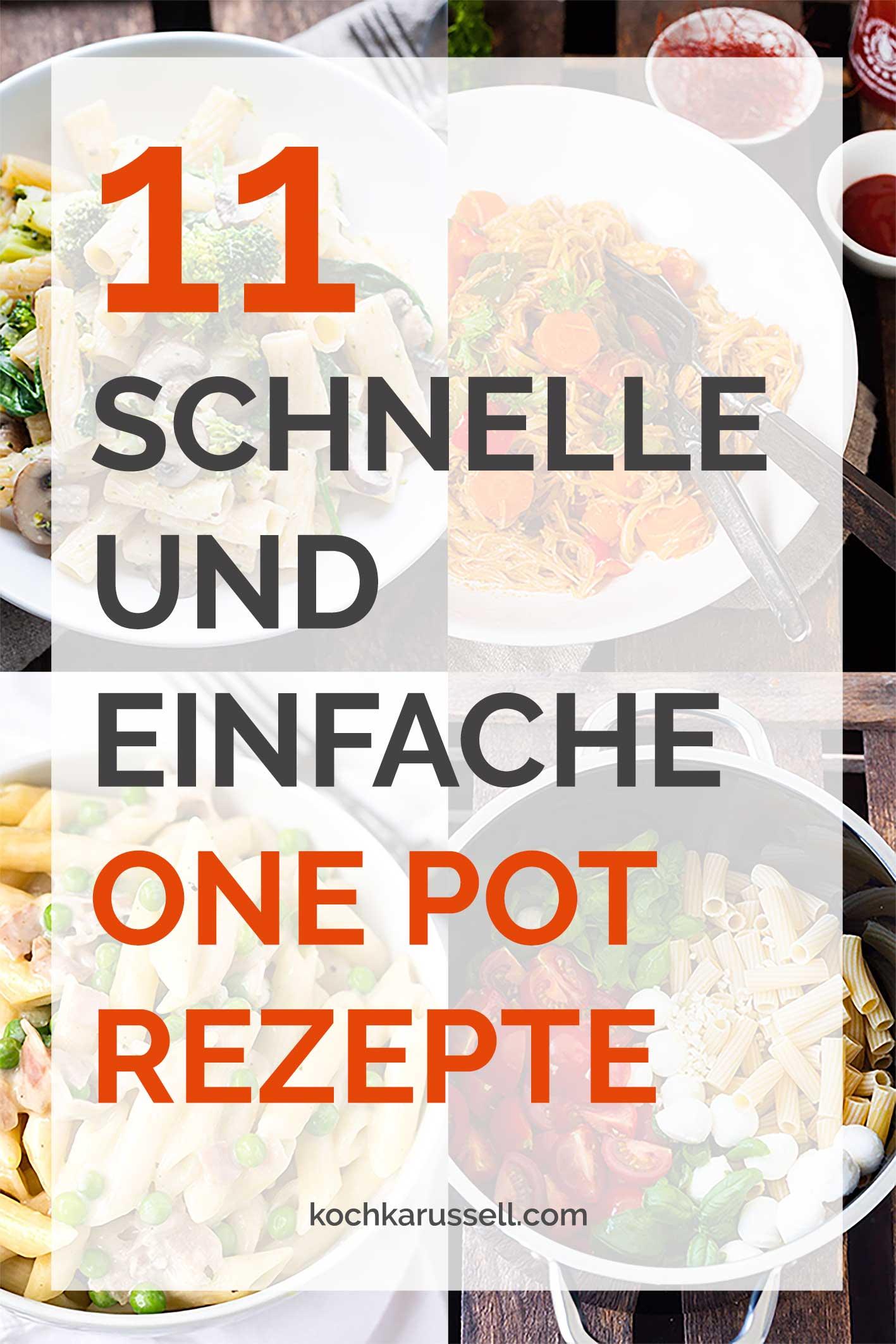 Rezepte Leichte Küche Schnell | 11 Schnelle Und Einfache One Pot Rezepte Kochkarussell