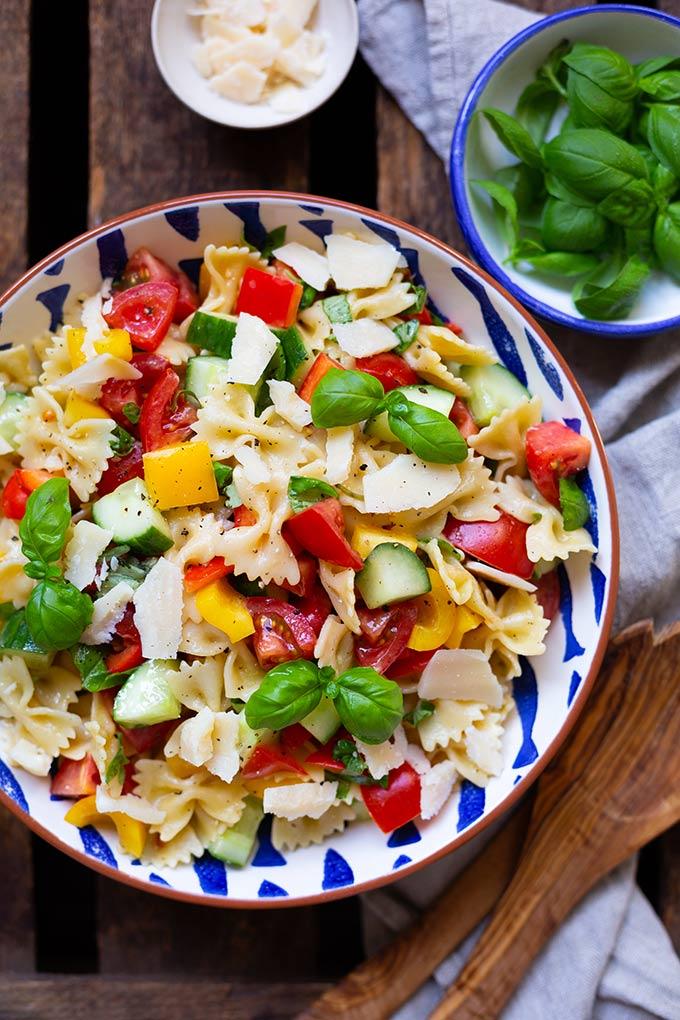 party salate zum grillen