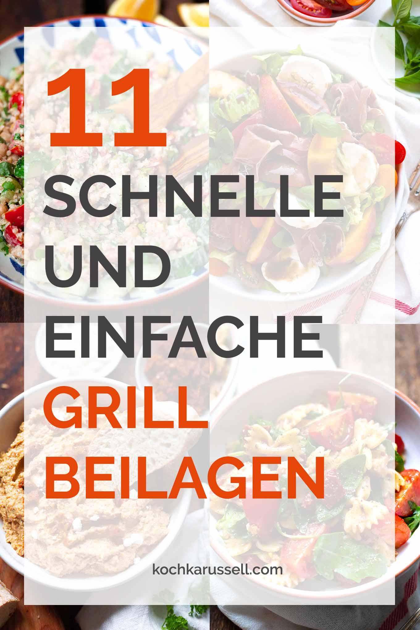 11 schnelle und einfache Grillbeilagen. Perfekt für BBQ, Grillfeier und Picknick, das müsst ihr probieren! - Kochkarussell.com - #grillen #bbq #beilagen #rezept