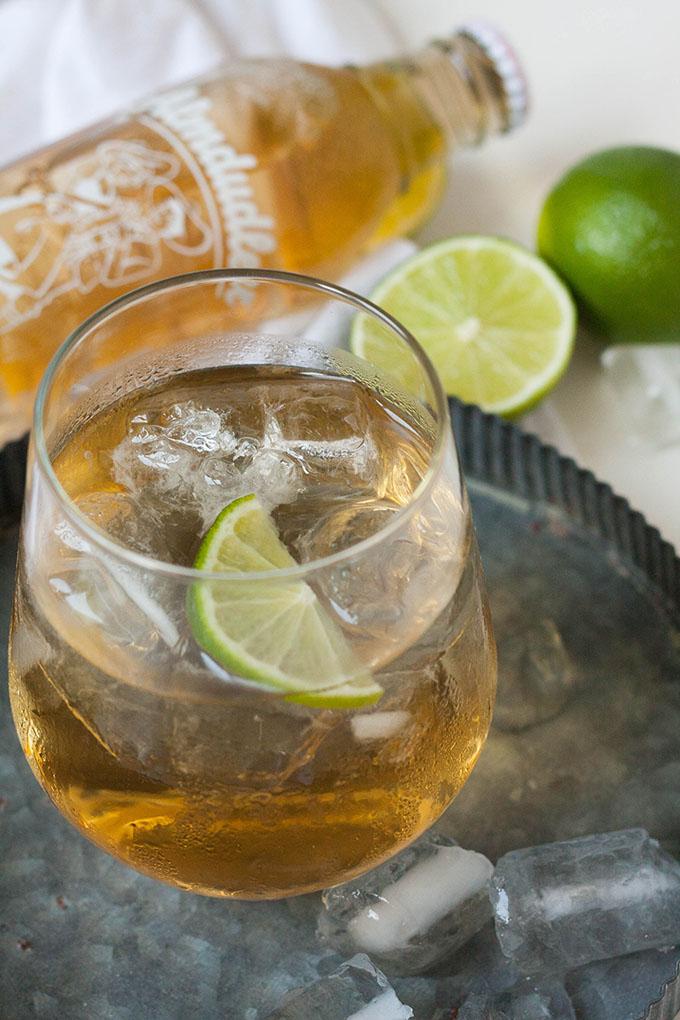Rezept: Prickelnder Gin Dudl aus vier Zutaten
